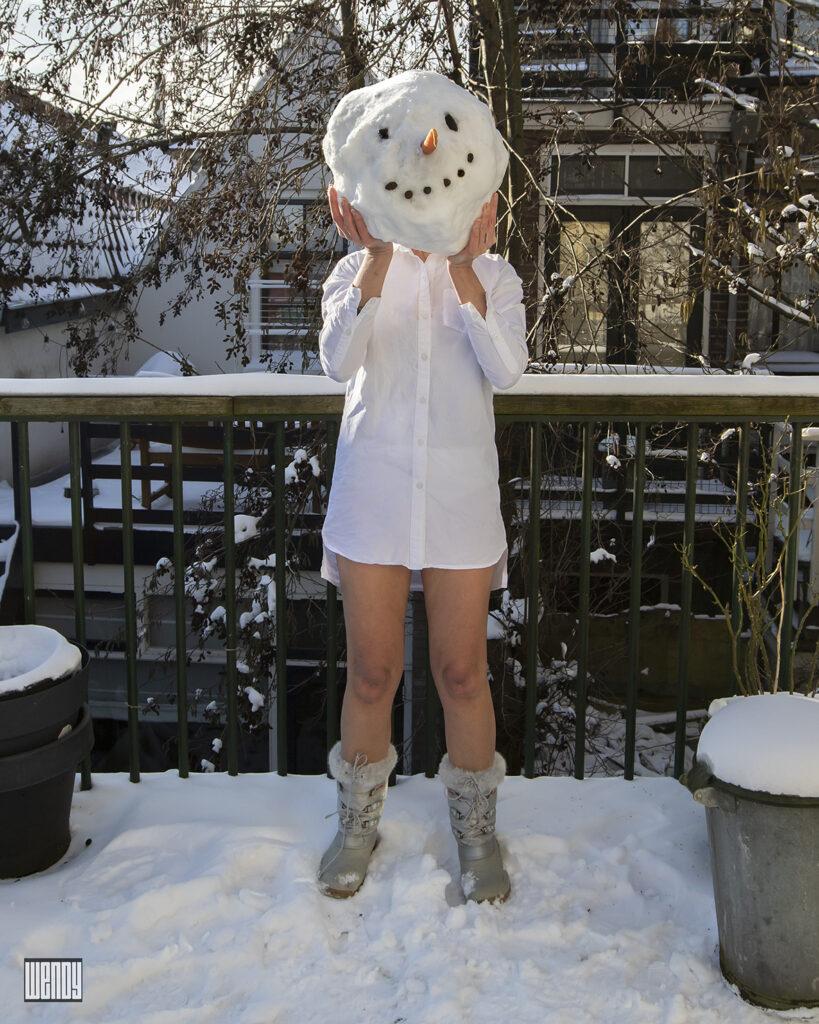 snow woman 1 2021