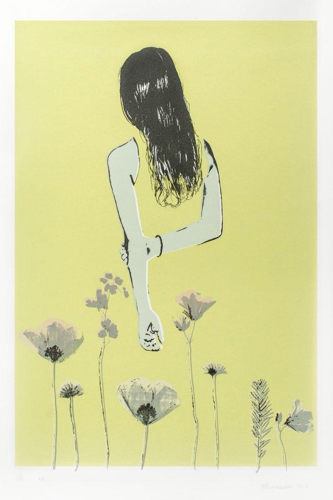 Bloemen  2017 6 kleurendruk - opl. 6 9afb. 36 x 25 cm)